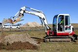 An excavator digs up dirt. Why aren't more buildings heated using geothermal energy? - ABC Online Why aren't more buildings heated using geothermal energy? - ABC Online a590da6b20